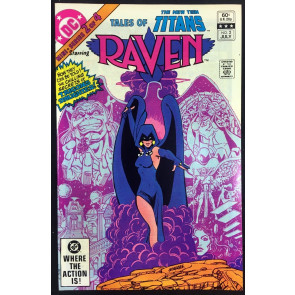 Tale of the New Teen Titans (1982) #2 NM (9.4) starring Raven George Perez art