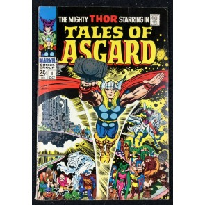 Tales of Asguard (1968) #1 FN- (5.5) Thor