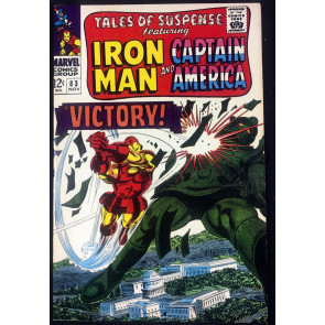 Tales of Suspense (1959) #83 FN+ (6.5) Featuring Captain America & Iron Man