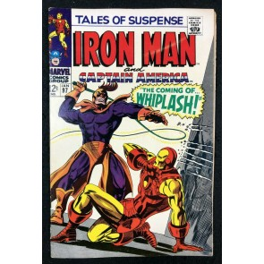 Tales of Suspense (1959) #97 FN+ (6.5) 1st app  Whiplash