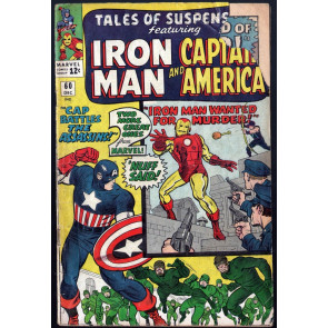 Tales of Suspense (1959) #60 GD- (1.8) 2nd app Hawkeye Iron Man Captain America