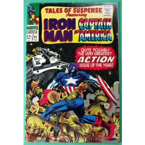 Tales of Suspense (1959) #86 VF (8.0) Iron Man Captain America Double Feature