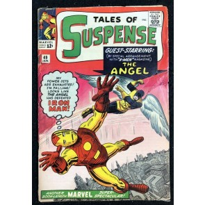 Tales of Suspense (1959) #49 App VG- (3.5) Angel vs Iron Man classic cover