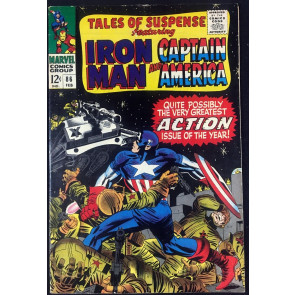 Tales of Suspense (1959) #86 VF- (7.5) featuring Captain America & Iron Man