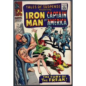Tales of Suspense (1959) #75 FN (6.0) Iron Man 1st Sharon Carter & Batroc
