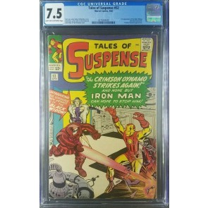 Tales Of Suspense #52 (1964) CGC 7.5 VF- 1st Black Widow Avengers 0270228020|