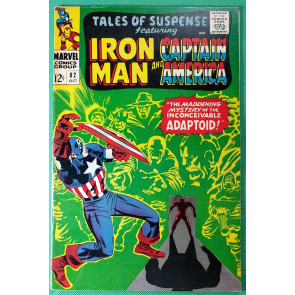 Tales of Suspense (1959) #82 FN/VF (7.0) 1st app Adaptoid