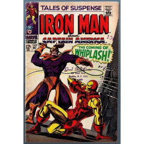 Tales of Suspense (1959) #97 VG- (3.5) 1st app Whiplash Iron Man Captain America