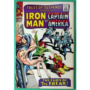 Tales of Suspense (1959) #75 FN/VF (7.0) 1st app Sharon Carter Agent 13 & Batroc