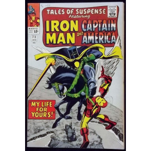 TALES OF SUSPENSE #73 VF- IRON MAN CAPTAIN AMERICA