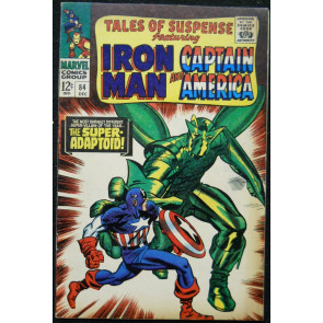 TALES OF SUSPENSE #84 FN+ SUPER ADAPTOID