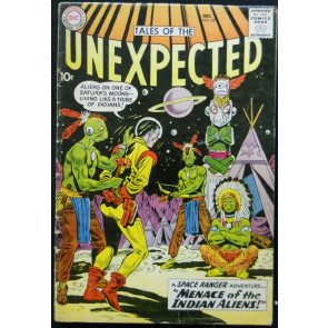 TALES OF THE UNEXPECTED #44 VG