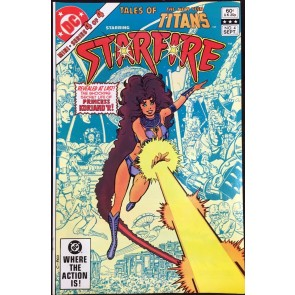 Tales of the New Teen Titans (1982) #2 NM (9.4) featuring Starfire George Perez