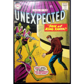 Tales of the Unexpected (1956) #42 VG- (3.5) Space Ranger story