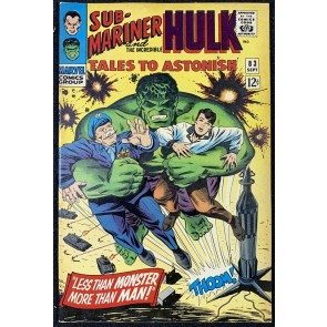 Tales To Astonish (1959) #83 VF- (7.5) Hulk & Sub-Mariner double feature