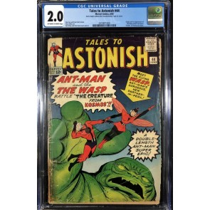 Tales To Astonish (1959) #44 CGC 2.0 1st app Wasp (0319871009)
