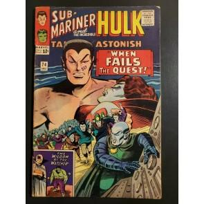 TALES TO ASTONISH #74 (1965) F- (5.5) SUB-MARINER, HULK, THE WATCHER 