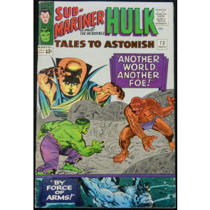 TALES TO ASTONISH #73 FN/VF