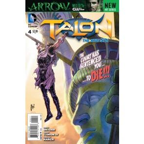 TALON #4 VF/NM THE NEW 52!