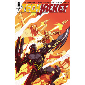 TECH JACKET (2014) #6 VF/NM IMAGE COMICS