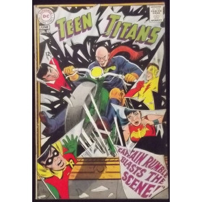 TEEN TITANS (1966) #15 FN- ROBIN WONDER GIRL KID FLASH