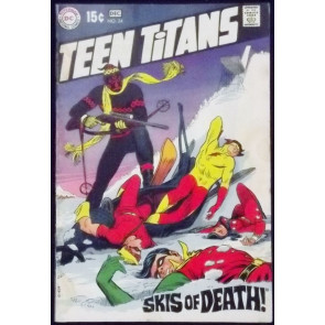 TEEN TITANS (1966) #24 VG/FN ROBIN SPEEDY KID FLASH