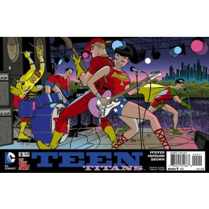 Teen Titans (2014) #5 VF/NM-NM Darwyn Cooke Variant Cover The New 52!