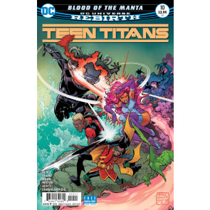 Teen Titans (2016) #10 VF/NM Brad Walker Cover DC Universe Rebirth