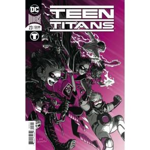 Teen Titans (2016) #23 VF+ Nick Derington Foil Cover DC Universe