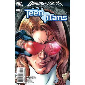 TEEN TITANS #68 NM ORIGINS & OMENS