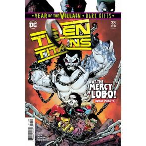 Teen Titans (2016) #33 VF/NM Bernard Chang Cover DC Universe