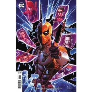 Teen Titans (2016) #29 VF/NM Mico Suayan Variant Cover DC Universe