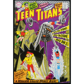 TEEN TITANS #8 FN/VF 1967