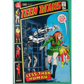 Teen Titans (1966) #33 FN/VF (7.0) Lilith cover