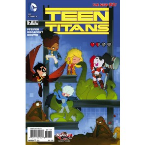Teen Titans (2014) #7 VF/NM-NM Harley Quinn Variant Cover The New 52!