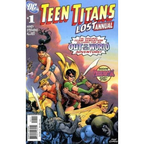 TEEN TITANS LOST ANNUAL #1 VF/NM NICK CARDY COVER