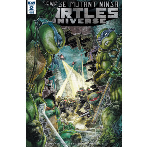 Teenage Mutant Ninja Turtles Universe (2016) #2 VF/NM Freddie Williams Cover IDW