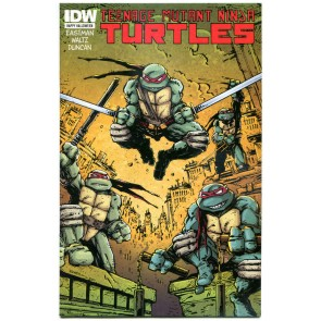 Teenage Mutant Ninja Turtles: Happy Halloween (2012) #1 VF/NM Eastman Cover IDW