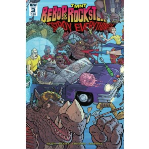 Teenage Mutant Ninja Turtles Bebop & Rocksteady Destroy Everything #3 of 5 IDW