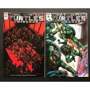 Teenage Mutant Ninja Turtles Universe (2016) #4 1:10 & Subscription Variant Lot