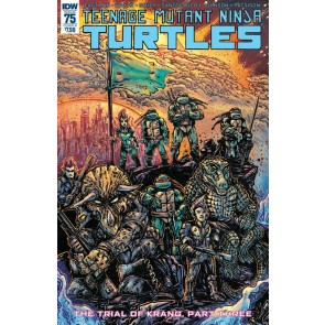 Teenage Mutant Ninja Turtles (2011) #75 VF/NM Eastman Cover B Variant IDW