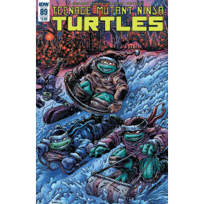 Teenage Mutant Ninja Turtles (2011) #89 VF/NM Kevin Eastman Cover IDW