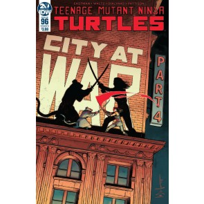 "Teenage Mutant Ninja Turtles (2011) #'s 96 97 98 99 100 ""City At War"" Part 2 Set"