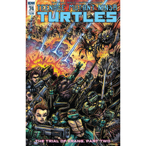 Teenage Mutant Ninja Turtles (2011) #74 VF/NM Kevin Eastman IDW