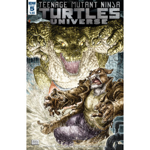 Teenage Mutant Ninja Turtles Universe (2016) #5 VF/NM Freddie Williams Cover IDW