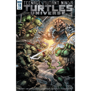 Teenage Mutant Ninja Turtles Universe (2016) #16 VF/NM Freddie William Cover IDW
