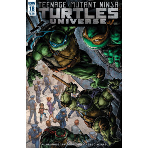 Teenage Mutant Ninja Turtles Universe (2016) #18 VF/NM Freddie William Cover IDW