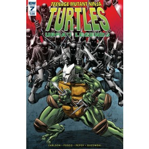 Teenage Mutant Ninja Turtles: Urban Legends (2018) #7 VF/NM Frank Fosco Cover A