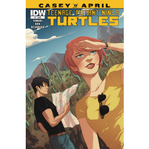 TEENAGE MUTANT NINJA TURTLES: CASEY & APRIL (2015) #1 VF/NM IDW TMNT