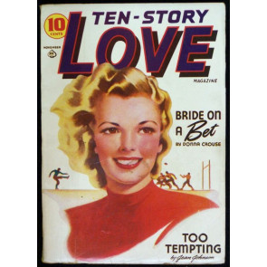TEN-STORY LOVE MAGAZINE VOLUME 11 #2 PULP 1941